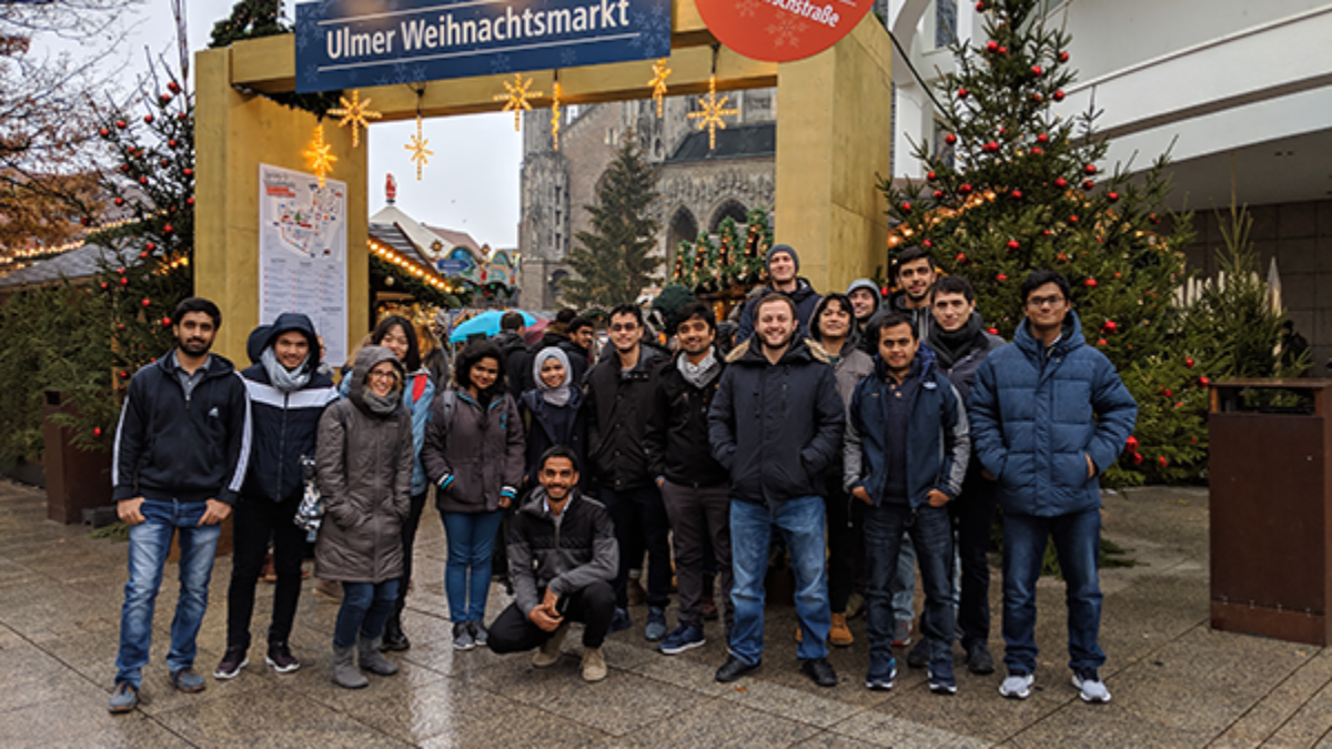 WAREM Excursion November 2018, Christmas market in Ulm